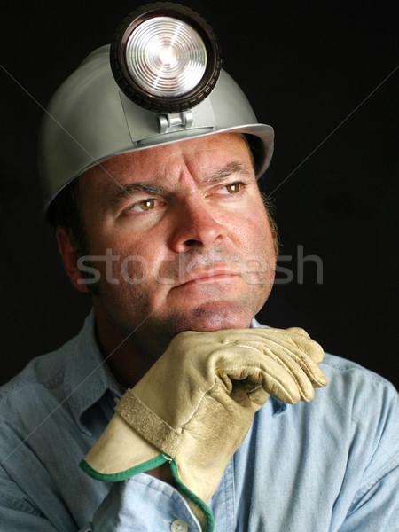 Coal Miner - Portrait  Stock photo © lisafx