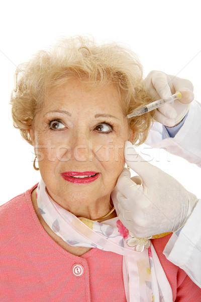 Cosmetic Injections Stock photo © lisafx