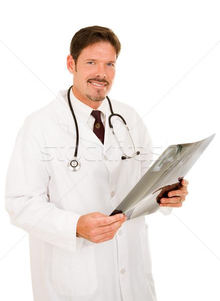 Bello medico Xray amichevole mri Foto d'archivio © lisafx