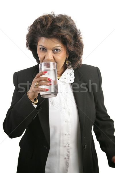 Indian Woman - Drinking Water Stock photo © lisafx