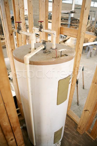 Eau chauffage eau chaude accent centre Photo stock © lisafx