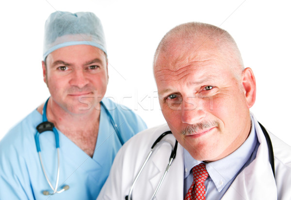 Handsome Medical Team Stock photo © lisafx