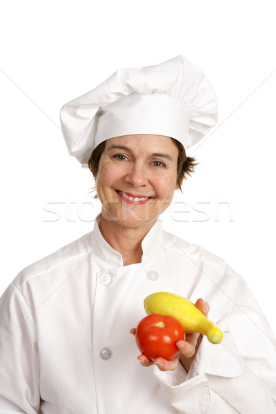 Chef Series - Veggetables Stock photo © lisafx