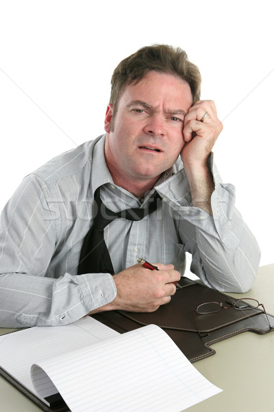 Office Worker-Trouble Concentrating Stock photo © lisafx