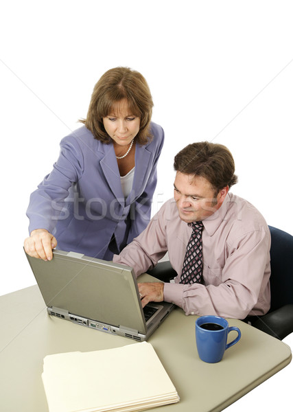 Business Team on Deadline Stock photo © lisafx