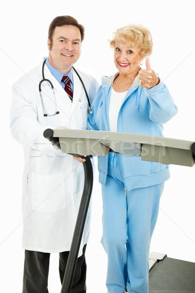 Medically Supervised Exercise Program Stock photo © lisafx