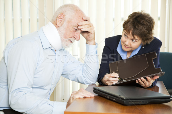 Overwhelming Medical Bills Stock photo © lisafx