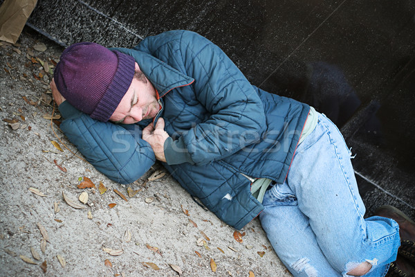 Homeless Cold and Alone Stock photo © lisafx