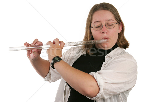 Stock photo: Student Flautist