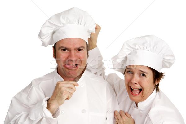 Suicidal Chef Stock photo © lisafx