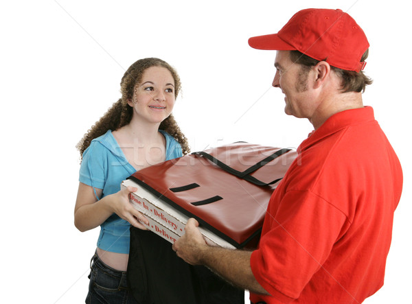 Home Pizza Delivery Stock photo © lisafx