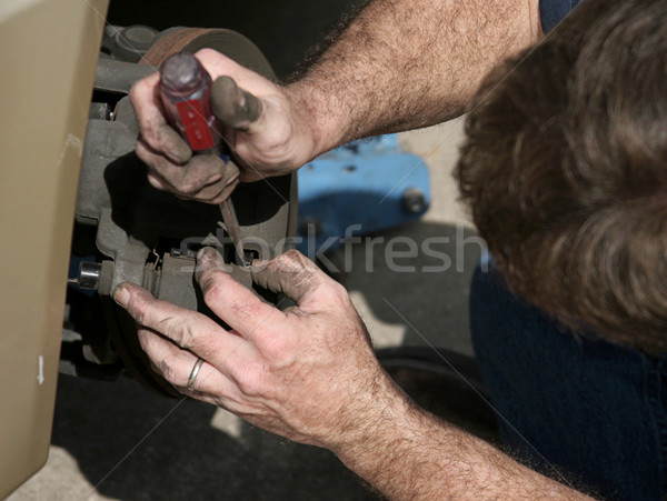 Opening Brake Housing Stock photo © lisafx