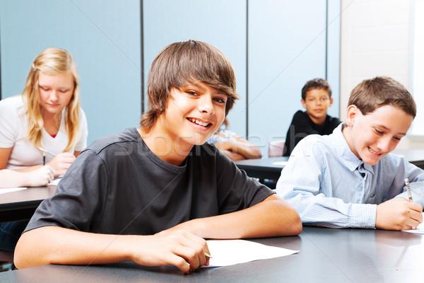 Teenagers in School Stock photo © lisafx