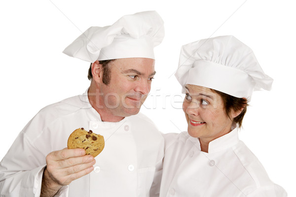 Chef Loves Cookie Stock photo © lisafx