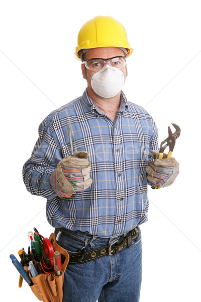 Construction Worker Safety Stock photo © lisafx