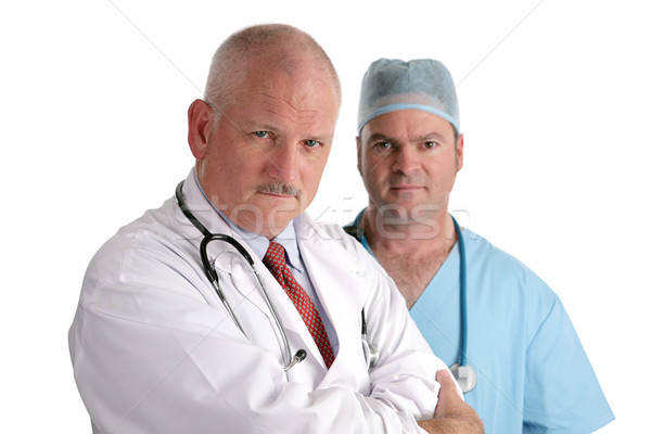 Serious Medical Professionals Stock photo © lisafx