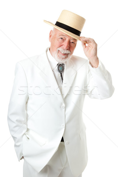 Southern Senior Man - Chivalry Stock photo © lisafx