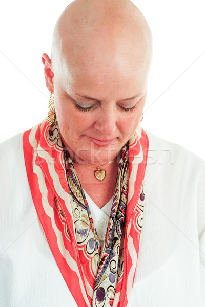 Cancer Survivor - Hair Loss Stock photo © lisafx