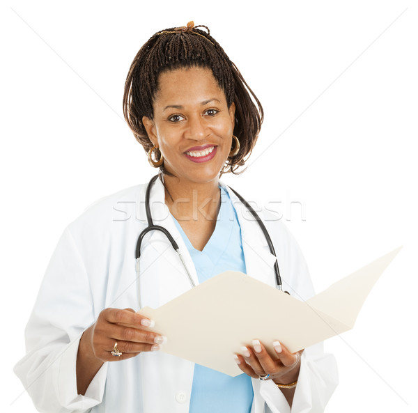 Female African-American Doctor Stock photo © lisafx