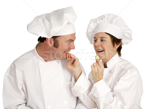 Chef Series - Healthy Eating Stock photo © lisafx