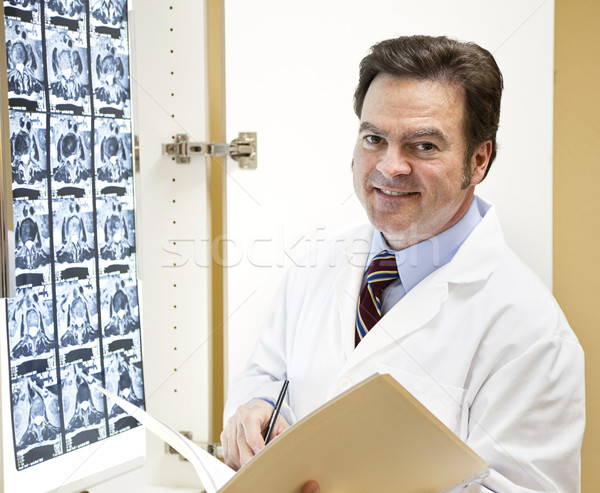 Doctor or Chiropractic Stock photo © lisafx