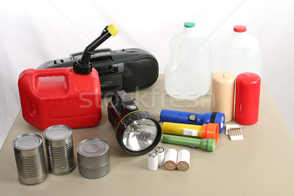 Hurricane Supplies Stock photo © lisafx