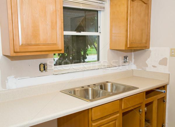 Kitchen Remodel In Progress Stock photo © lisafx
