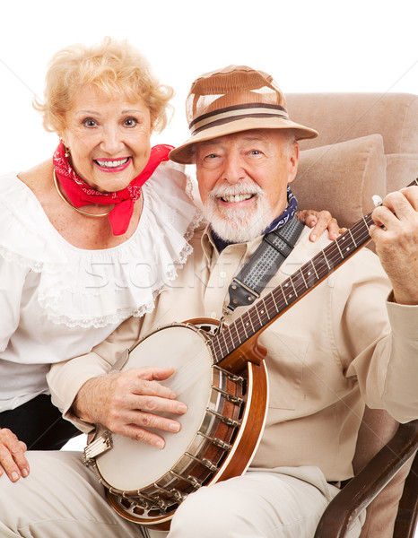 Senior Country Music Couple Stock photo © lisafx