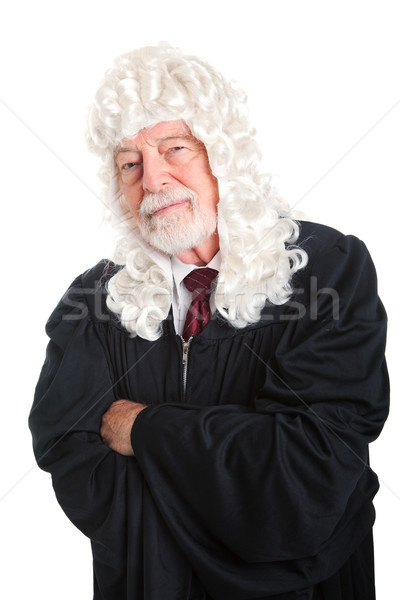 British Judge - Skeptical Stock photo © lisafx