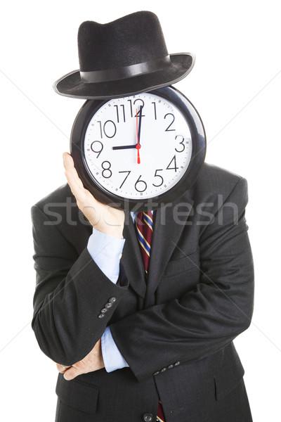Faceless Businessman - Bored Stock photo © lisafx