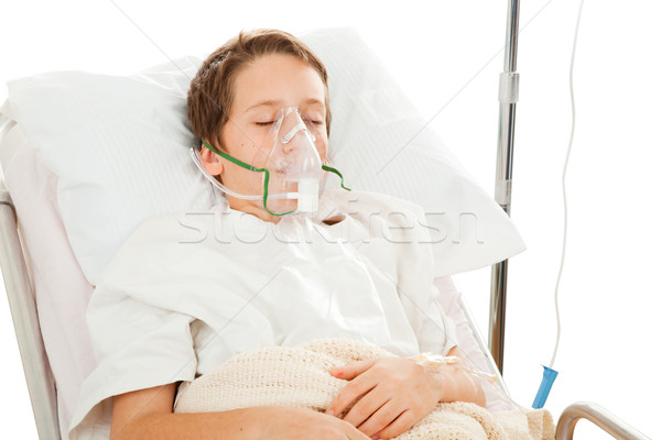 Child in Hospital Stock photo © lisafx