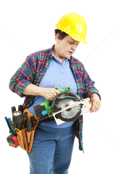 Confused by Power Tools Stock photo © lisafx