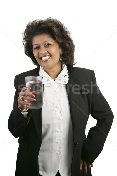 Indian Woman - Refreshment Stock photo © lisafx