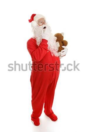 Sleepy Santa Stock photo © lisafx