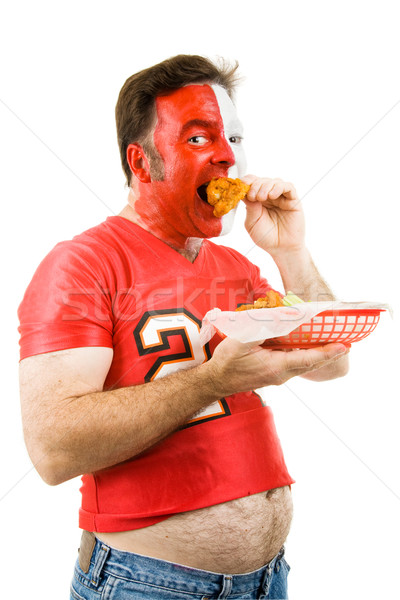 Sports and Junk Food Stock photo © lisafx