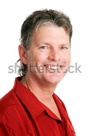 Portrait of Handsome Baby Boomer Man Stock photo © lisafx