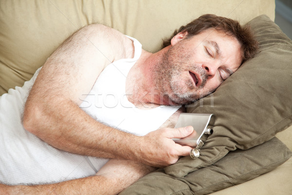 Alcoholic Passed Out Drunk Stock photo © lisafx
