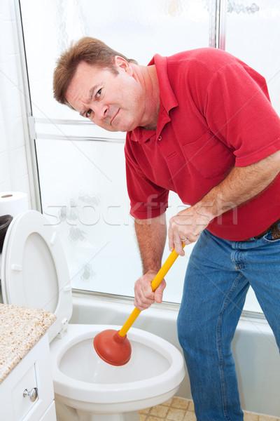 Nasty Plumbing Job Stock photo © lisafx