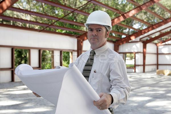 Engineer on Jobsite Stock photo © lisafx