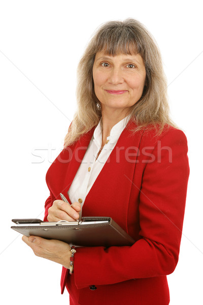 Mature Businesswoman or Realtor Stock photo © lisafx