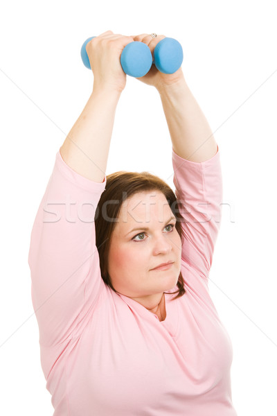 Pilates Free Weights Stock photo © lisafx