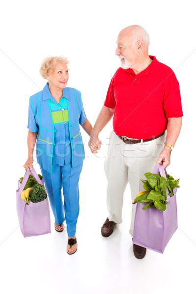 Senior Shoppers - Green Lifestyle Stock photo © lisafx