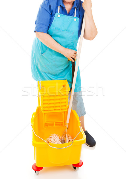 Mopping Up Stock photo © lisafx