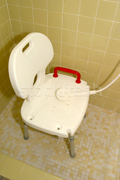 Medical Shower Chair 1 Stock photo © lisafx