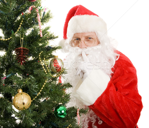 Santa Claus - Quiet Stock photo © lisafx