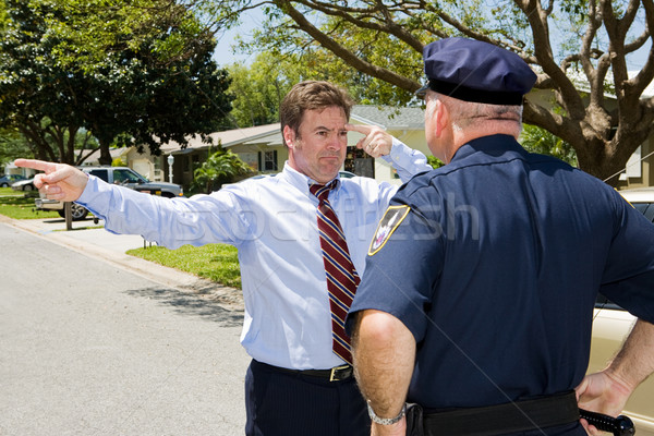 Sobriety Test - Failure Stock photo © lisafx