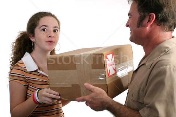 Surprise Delivery Stock photo © lisafx