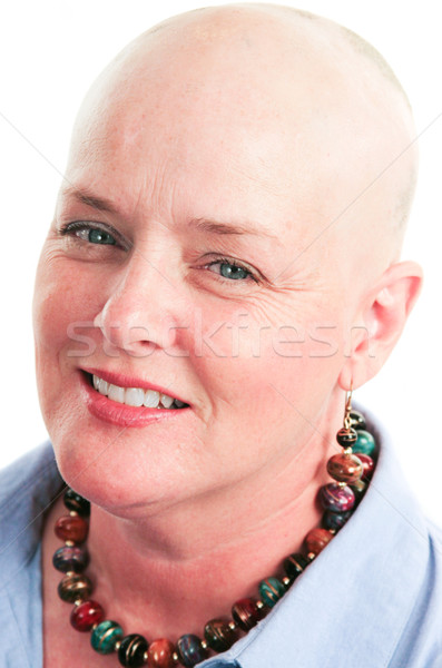 Portrait of Cancer Survivor Stock photo © lisafx