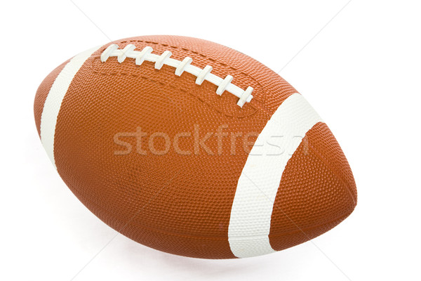 Football Isolated with Path Stock photo © lisafx