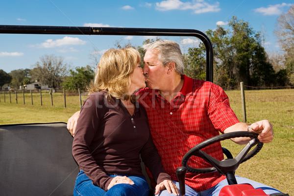 Romance on the Range Stock photo © lisafx
